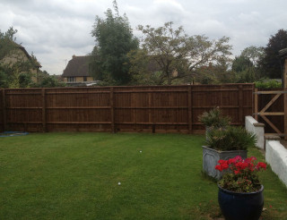 Hand Built Close Board Fencing